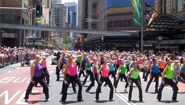 Physie Sydney Christmas Parade 2008