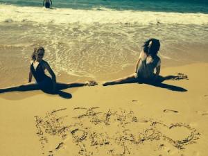 Splits on the Sand
