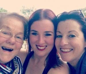 grandma's first selfie