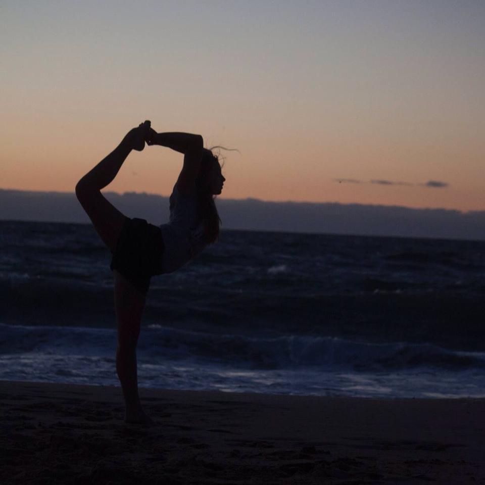 Balance at Back Beach