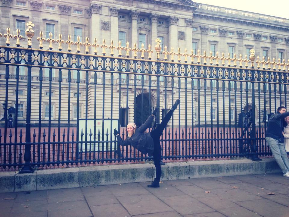 Balance at Buckingham Palace