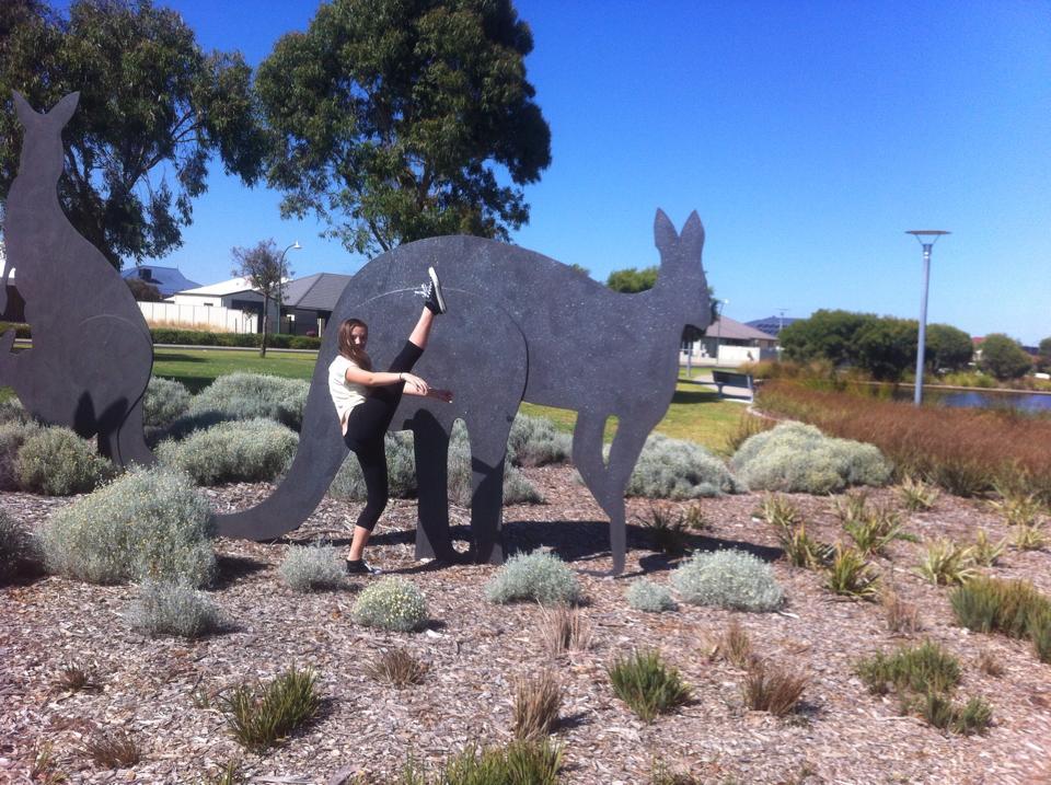 Kick With Kangaroo