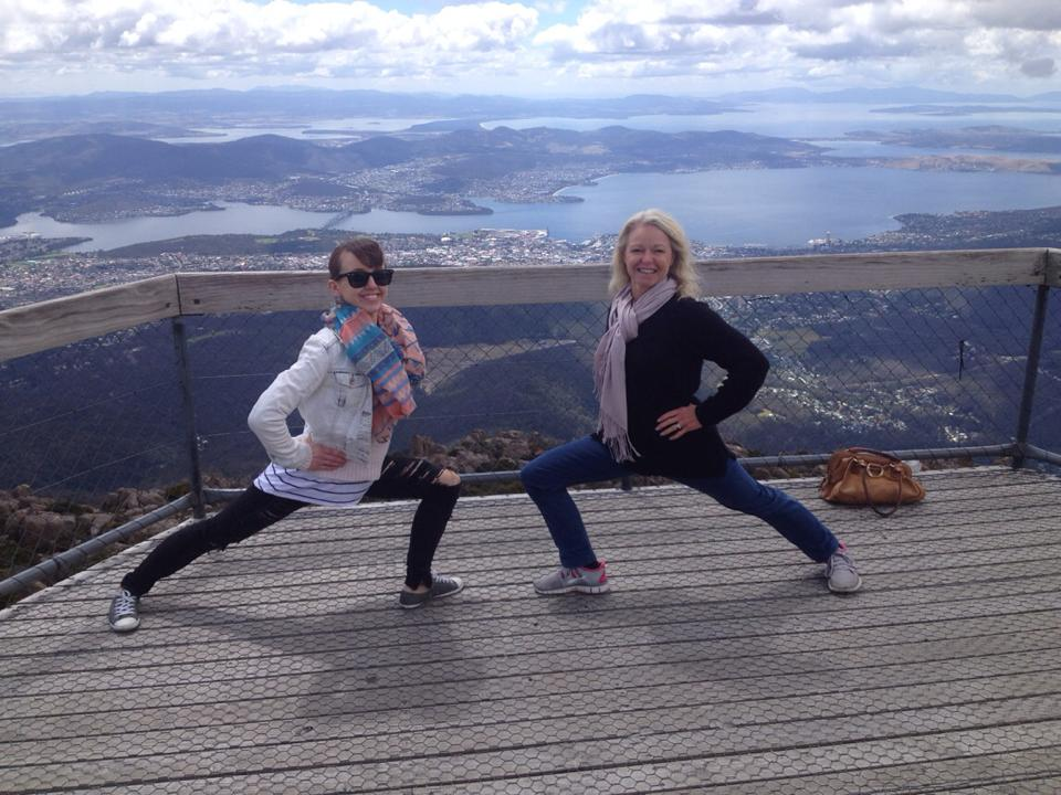 Lunges at the Lookout