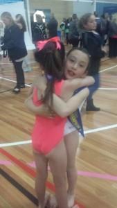 hug for team mate 2
