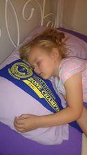 asleep with my pennant