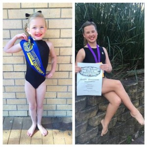TILLIE KENNEDY 6 yrs AND TAHLIA KENNEDY 11 years
